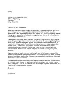 Teacher Cover Letter Experience New