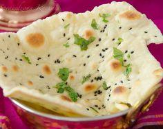 Naan – chlebek indyjski