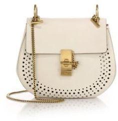 Chloe Drew Small Perforated Leather Saddle Crossbody Bag  https://api.shopstyle.com/action/apiVisitRetailer?id=506590048&pid=uid2500-37484350-28