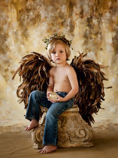 Sweet, classic and simply beautiful. Angel Images, Angel Pictures, Fairy Photoshoot, Cute Blonde Boys, Little Kid Fashion, Boy Photos, Boy Art, Cute Baby Girl, Beautiful Children