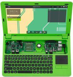 Raspberry Pi powered PiTop laptop