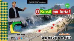 O Brasil em fúria: A tsunami verde e amarela está chegando!