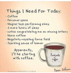 Coffee and introverting Coffee Is Life, I Love Coffee, My Coffee, Happy Coffee, Coffee Break, Monday Humor, Monday Quotes, Wednesday Humor, Thursday