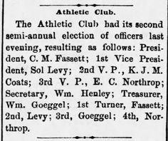 "Reno Gazette-Journal, 18 Mar 1880, Thu, Main Edition  WJ Henley dresses as ""darkie"" for Masquerade Ball"