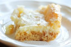 chess squares or gooey butter cake...an unbelievably indulgent southern dessert staple