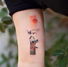 Do you know frame tattoo? The elongated rectangular frame tattoos we show today are unusual pieces. They have a unique shape, exquisite Tattoos Skull, Cute Tattoos, Body Art Tattoos, Sleeve Tattoos, Tatoos, Octopus Tattoos, Irezumi Tattoos, Small Forearm Tattoos, Forearm Tattoo Design