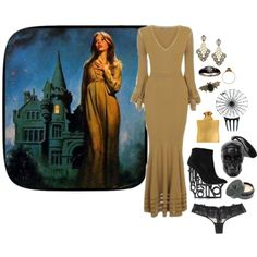 """Embracing the Nightside"" by ghoulnextdoor on Polyvore"