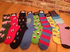 Who doesn't love fun socks? :)