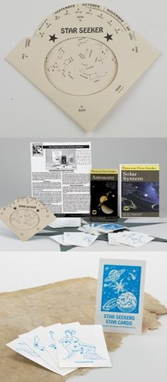 Star seekers constellations map activity kit