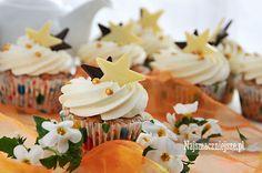 Babeczki z orzeszkami ziemnymi #ciasteczka #babeczki #cake #food #najsmaczniejsze