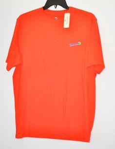 TOMMY BAHAMA Men's T-Shirt Sip Line Lava Flow Short Sleeve size L NWT  #TommyBahama #Grap