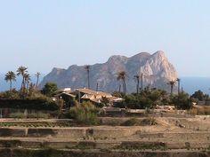 The ifach as seen from Montemar near Moraira