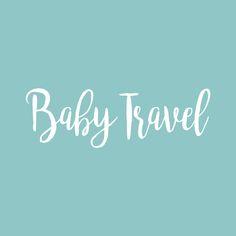 Baby Travel, Traveling With Baby, Company Logo, Logos, Logo, A Logo, Toddler Travel
