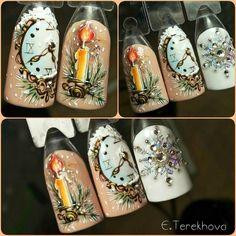 nail-art AKA Дизайн ногтей. Уроки маникюр.