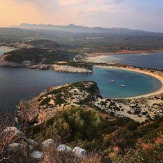 Mighty fine mushroom bay. . . .  #mighty #mushroom #bay #blue #water #bluewater #beach #greece #peloponnese #hike #whyihike #view