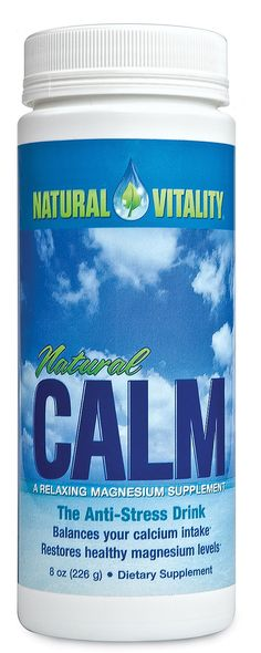 Calm, for when it gets hairy out there. Our clients love the benefits.