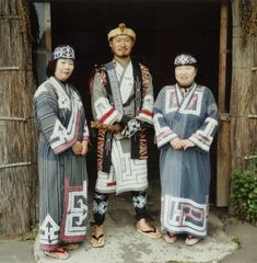 Traditional Ainu clothes