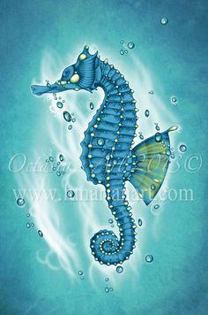 Sea Horse Art