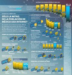 Usuarios de Internet en México 2013 | El Economista
