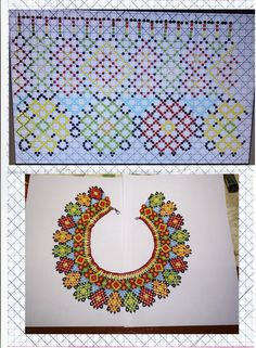 Bead Necklaces, Seed Bead Earrings, Seed Beads, Beading Ideas, Beading Projects, Beading Patterns, Hama Beads, Bead Weaving, Handcrafted Jewelry