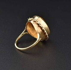 Ladies Repair US 6.75 Women/'s 3.1 Gr Antique Art Deco 10K Gold Ring Setting