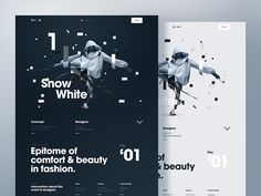 Fashion Details Page by Johan Adam Horn  - Dribbble