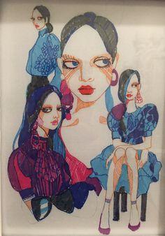 """""""Blue Girls Set"""" illustration 2"""