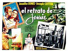 Carteles del cinema: 1948 - JENNIE - Portrait of Jennie - William Dieterle