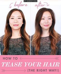 how to tease your hair like a pro