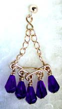 WigJig Triangles Beaded Earrings jewelry making design