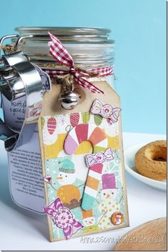 la ricetta dei biscotti in vaso