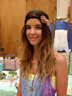 Silk Flower Crowns on leather  adjustable by ValleyCatDesigns, $25.00