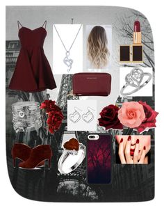 """""""Valentine Date Night"""" by dancergirl172 ❤ liked on Polyvore featuring Glamorous, Sole Society, Tom Ford, BERRICLE, Casetify, MICHAEL Michael Kors, Avenue and Rock 'N Rose"""
