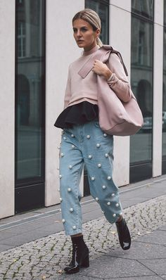 Pearls are taking on a new life as embellishments and details on everything from jeans to shoes. See and shop our favorite ways to wear them!
