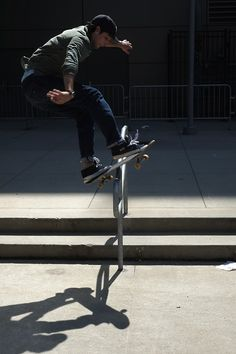 Short rails will always be tougher than long ones /Asiaskate/