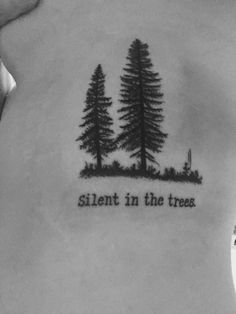 Silent in the trees. Twenty One Pilots |-/