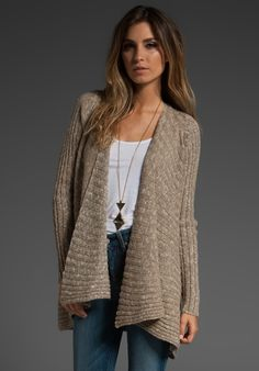 free people bleached shell cardigan