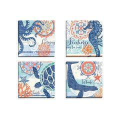 <li>Title: North Shore Octopus <li><li>Artist: Jennifer Brinley </li><li>Product type: Framed canvas wall art</li>
