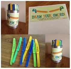 """Armor of God - """"Draw Your Sword Game"""" A fun way to encourage familiarity with the scriptures.  This will need some adjusting for young kids and LDS perspective, but a fun idea."""