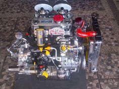 These car engines are cleaner than your toilet Mini Cooper Classic, Mini Cooper S, Classic Mini, Austin Cars, Cooper Car, Mini Drawings, Cool Vans, Mini Trucks, Classic Motors