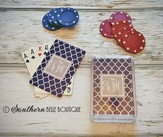 Personalized Playing Cards   thesouthernbelleboutique.net