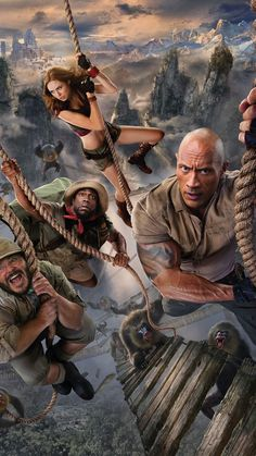Jack Black, Kevin Hart, Dwayne Johnson, and Karen Gillan in Jumanji: The Next Level Hd Movies, Movies To Watch, Movies Online, Movies And Tv Shows, Movie Tv, Action Movies, Indie Movies, Comedy Movies, Kevin Hart