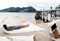 Recycled sails outdoor furnitur by dvelas