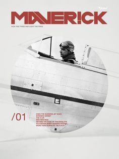 Maverick Magazine by Anthony Neil Dart, Canada Book Design Layout, Love Design, Editorial Layout, Editorial Design, Print Magazine, Magazine Design, Frank Chimero, Typography Magazine, Make Business