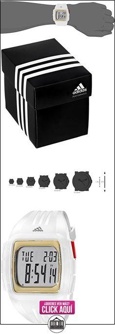 Adidas Men's White Polyurethane Stainless Steel Case Mineral Glass Watch adp3156  ✿ Relojes para hombre - (Gama media/alta) ✿ ▬► Ver oferta: http://comprar.io/goto/B00RZD3NTA
