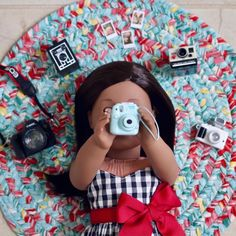 American Girl Doll - Check This Out Article To Make Toy Purchases Easier All American Girl Dolls, American Girl Doll Costumes, Ropa American Girl, American Girl Doll Pictures, American Doll Clothes, American Girl Bedrooms, American Girl Crafts, Poupées Our Generation, American Girl Furniture