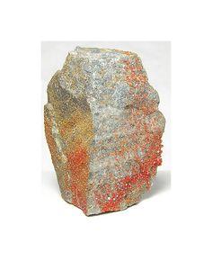 Vanadinite Crystals Reddish Orange Druzy, Apache Mine Arizona, by FenderMinerals on Etsy