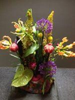 Stap voor stap een mooi bloemstuk maken!