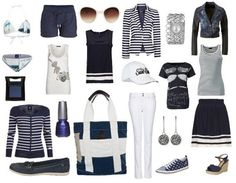 Casual outfit Marine look