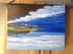 So cal beach painting#wave
